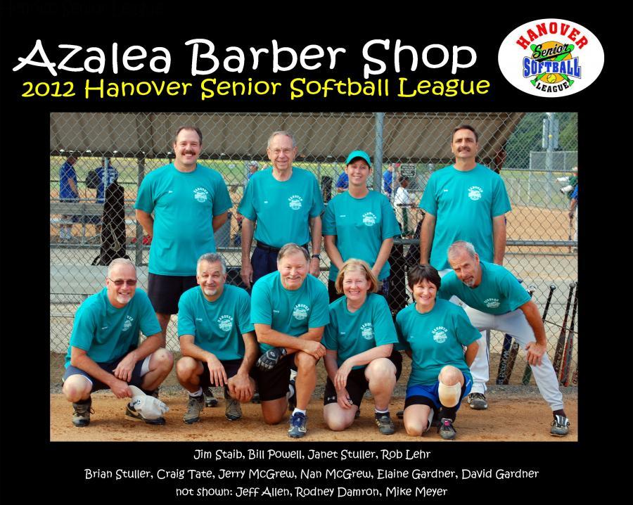 8x10 Azalea Barber shop